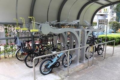 Dual Bicycle Racks