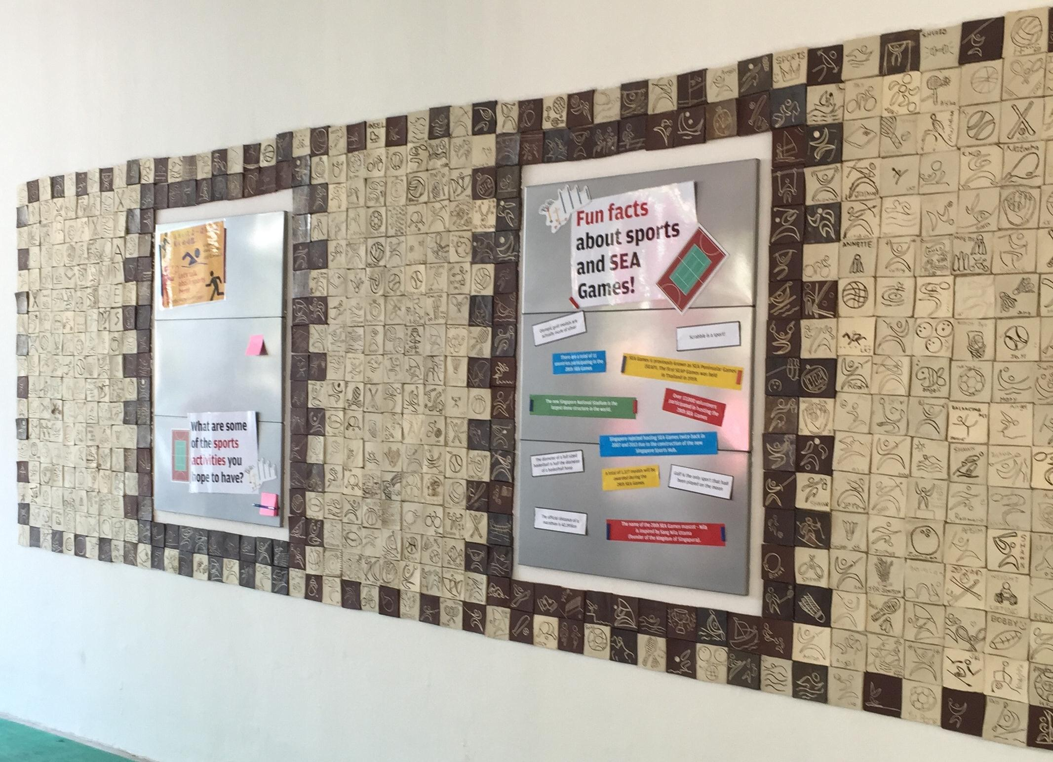 Siglap East's Walls of Inspiration, Sports Wall