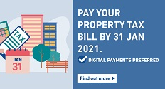 Make payment for your property tax bill