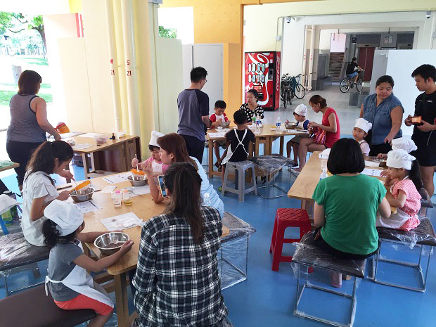 HDB Friendly Faces Lively Places Fund, conversion of void deck into community cafes, workshop area or living room