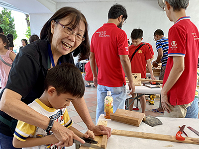 Woodworking Fun @ Clementi