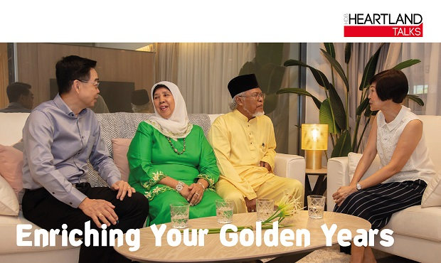 Heartland Talks - Enriching Your Golden Years on 29 June 2019